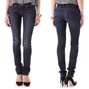 J Brand | Low Rise Pencil Skinny Jeans in Ink
